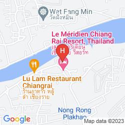 Map LE MERIDIEN CHIANG RAI RESORT