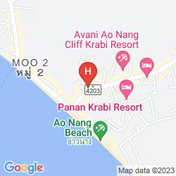 Map KRABI TIPA RESORT