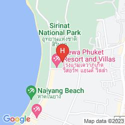 Map CACHET RESORT DEWA PHUKET