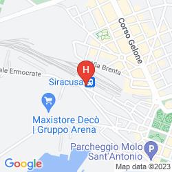 Map ARETUSA PALACE HOTEL