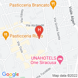 Map QUALITY HOTEL PARK SIRACUSA