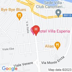 Map VILLA ESPERIA