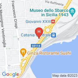 Map VILLA ROMEO (CATANIA)