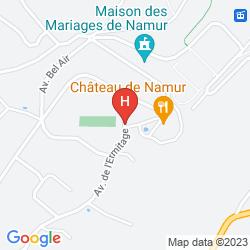 Map CHATEAU DE NAMUR