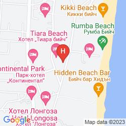 Map IBEROSTAR TIARA BEACH