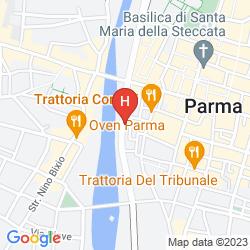 Map IBIS STYLES PARMA TOSCANINI