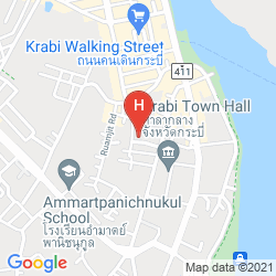 Map KRABI COZY PLACE