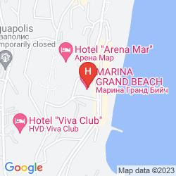 Map MARINA GRAND BEACH