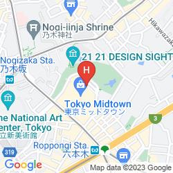 Map THE RITZ-CARLTON, TOKYO