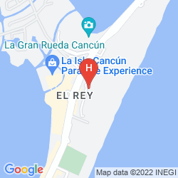 Map THE WESTIN LAGUNAMAR OCEAN RESORT VILLAS & SPA CANCUN