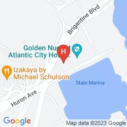 Map TRUMP PLAZA & CASINO