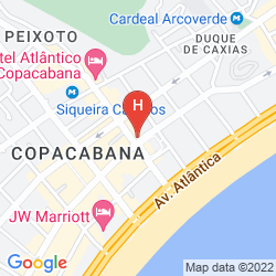 Map MAR PALACE COPACABANA