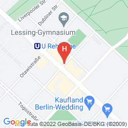Map REHBERGE PENSION HOTEL