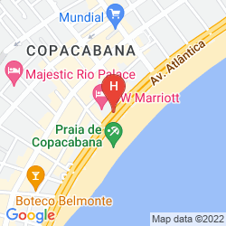 Map MERCURE RIO DE JANEIRO COPACABANA
