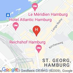 Map ALPHA HOTEL PENSION