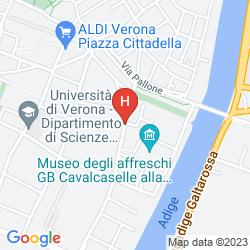 Map BEST WESTERN HOTEL DE' CAPULETI