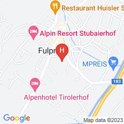 Map AKTIVHOTEL DONNERHOF