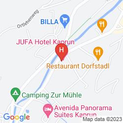 Map JUFA HOTEL KAPRUN