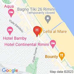 Map IMPERIALE RIMINI