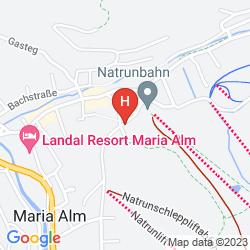 Map HOTEL PENSION PINZGAUER HOF
