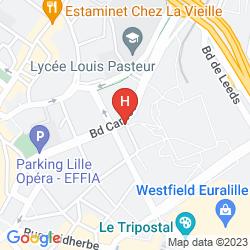 Map FLANDRE ANGLETERRE