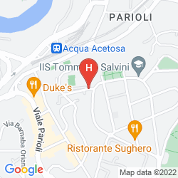 Map GRAND HOTEL HERMITAGE