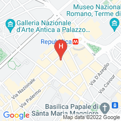 Map LA GRIFFE ROMA - MGALLERY BY SOFITEL