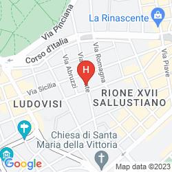 Map VENETO PALACE