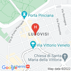 Map WESTIN EXCELSIOR ROME