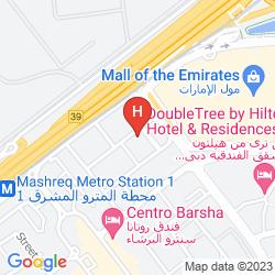Map IBIS DUBAI MALL OF THE EMIRATES