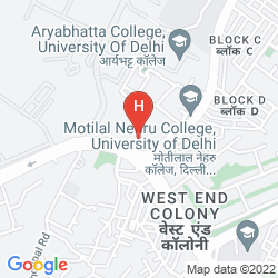 Map ASHOKA PALACE