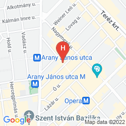 Map OPERA GARDEN HOTEL & APARTMENTS