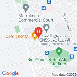 Map VATEL GOLF & SPA