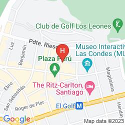 Map W SANTIAGO