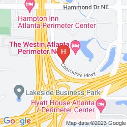 Map THE WESTIN ATLANTA PERIMETER NORTH
