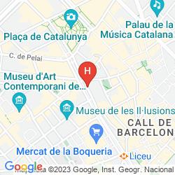Map SERHS RIVOLI RAMBLA