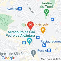 Map PENSAO RESIDENCIAL ROMA