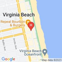 Map HOLIDAY INN OCEANSIDE