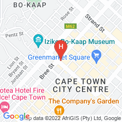 Map TAJ CAPE TOWN