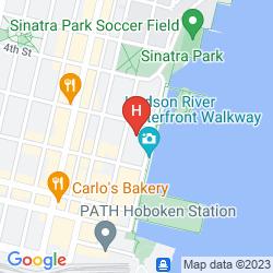 Map W HOBOKEN