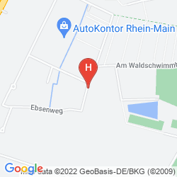 Map PREMIERE CLASSE FRANKFURT OFFENBACH