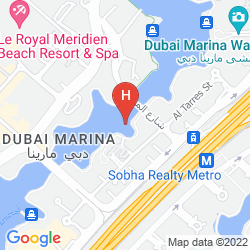 Map NURAN MARINA SERVICED RESIDENCES