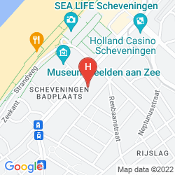 Map IBIS DEN HAAG - SCHEVENINGEN