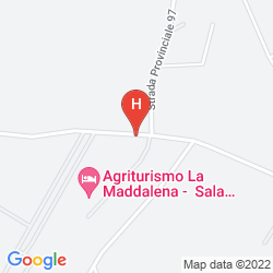 Map AGRITURISMO LA MADDALENA