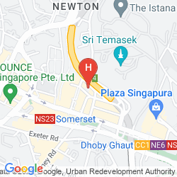 Map HOLIDAY INN SINGAPORE ORCHARD CITY CENTRE