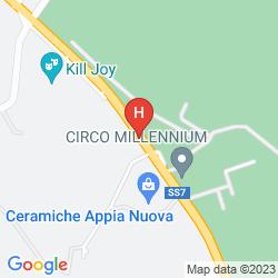 Map LOCANDA DELLE CORSE