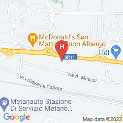 Map BEST WESTERN HOTEL TURISMO