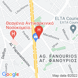 Map HYATT REGENCY THESSALONIKI