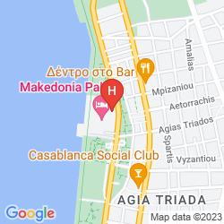Map MAKEDONIA PALACE