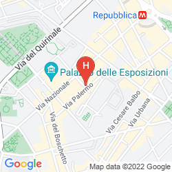 Map BOUTIQUE HOTEL GALATEA
